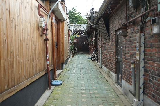 So Sun Jae Guesthouse: The alley to Sophia Guest House