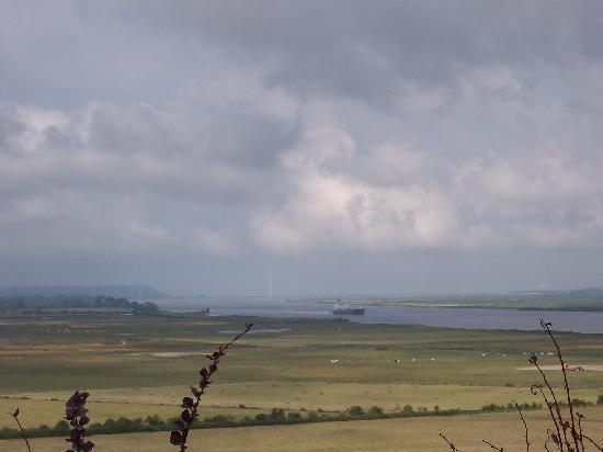 Le pont de Normandie depuis le phare de la Roque