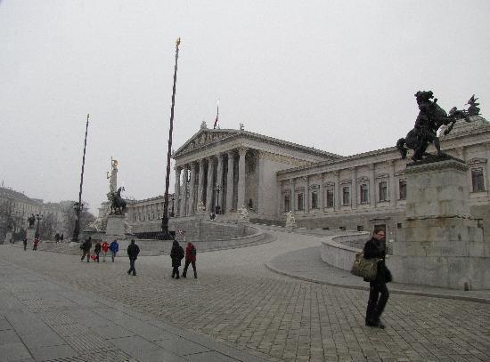 Vienna, Austria: Parlament