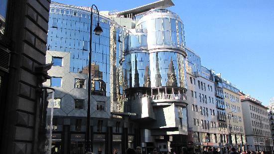 Vienna, Austria: Graben, Haas House