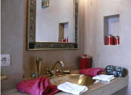 Riad Baba Ali: bagno
