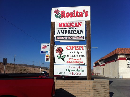 This Is A Great Restaurant In Barstow That Has Been Owned