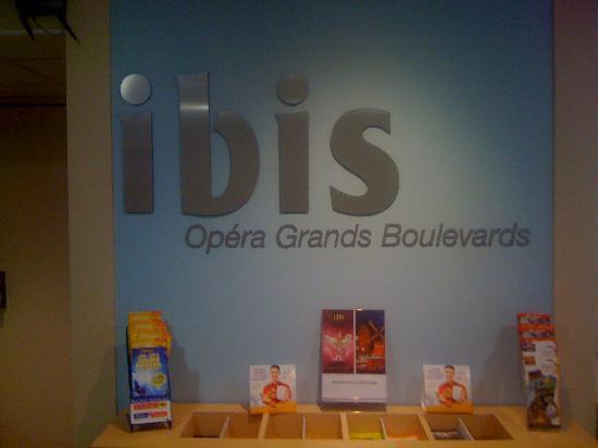 Ibis Paris Grands Boulevards Opera 9eme: ibis paris