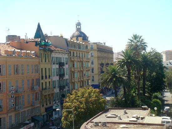 Kyriad Nice Gare: from balcony1