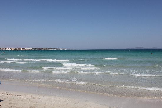 Cesme, Tyrkiet: spiaggia