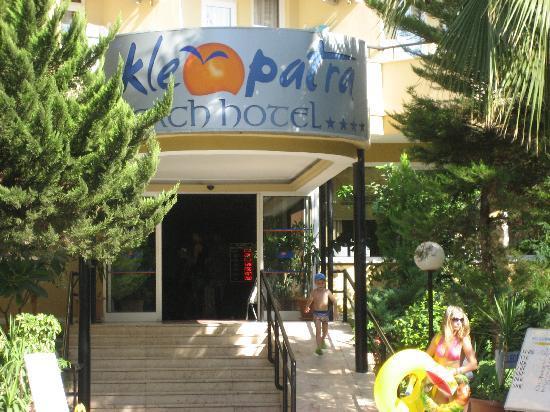 Kleopatra Beach Hotel: ikke anbefeles