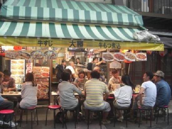 Taisyu Sakaba Daikatsu outdoor seating