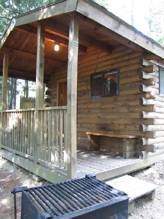 Ashland, NH: our Rustic cabin