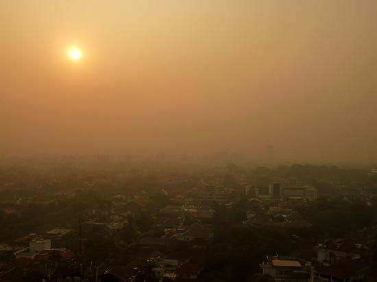 Mandarin Oriental, Jakarta: sunrise