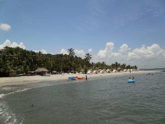 Decameron Galeon: Playa frente al Hotel