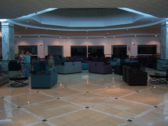 El Mouradi Club Kantaoui : The Hotel Reception Area