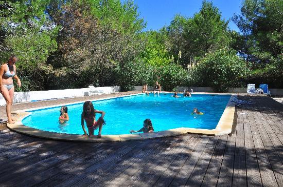Mas de Pioch: La piscine