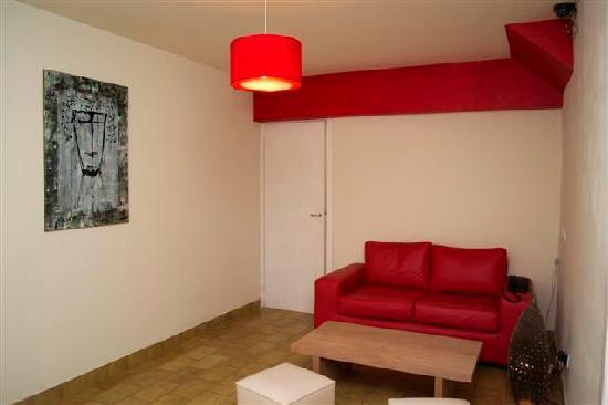 Hosteria Portofino: Living