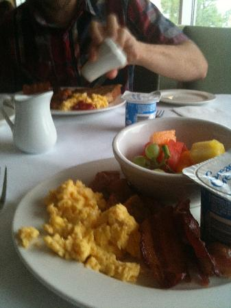 Christie's Mill Inn and Spa: My breakfast.
