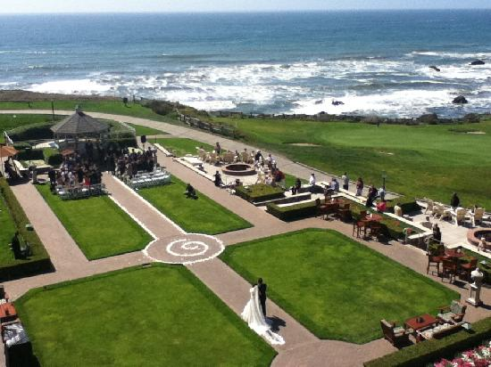 The Ritz Carlton Half Moon Bay Wedding At Hotel