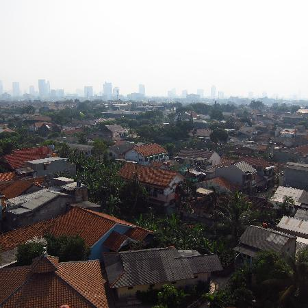 Arion Swiss-Belhotel Kemang Jakarta: Views from the rooftop of the hotel