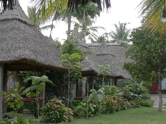 Shanthi Guesthouse: garden view huts