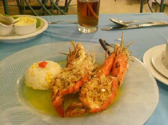 La Pigua : Piqua, tasty, fresh water shrimp