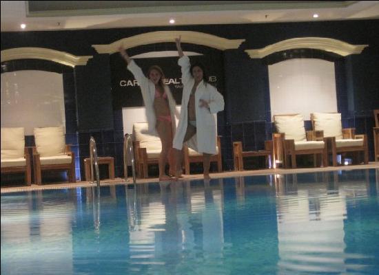 The Westin Valencia: The Westin inside pool and Spa