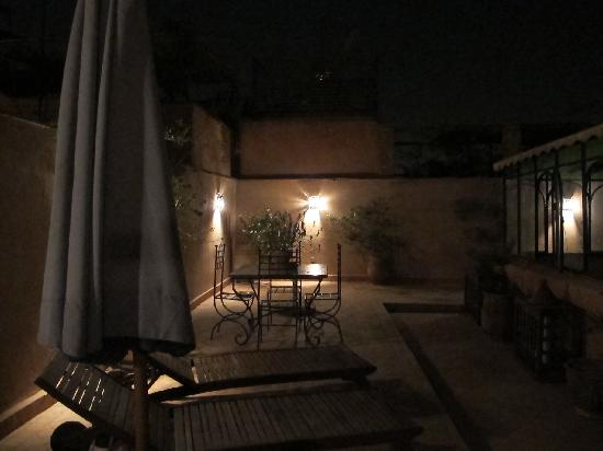 Riad Attouyour: Lovely evenings on the roof