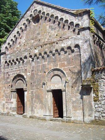 Santu Lussurgiu, Italy: facciata estera