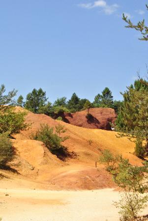 L'Abbaye: Ganz in der Nähe: Colorado von Rustrel