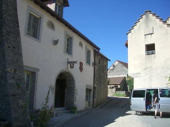Le Relais des Abbesses : Das Haus mit den Gästezimmern