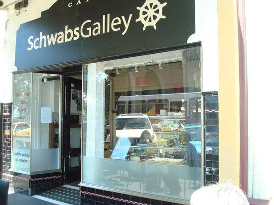Schwabs Galley: The cafe