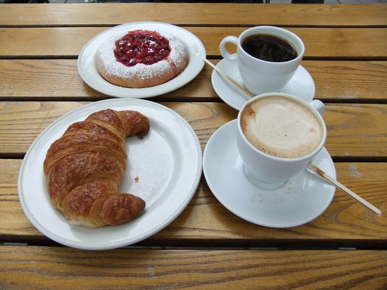 Apent bakeri: colazione