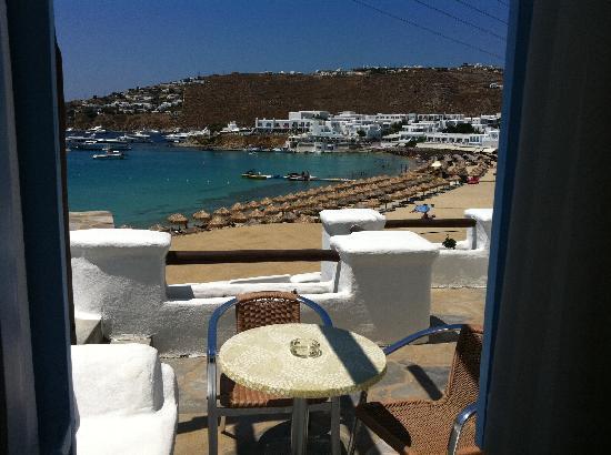 Thalassa Hotel : vista dal terrazzino dell'hotel Thalassa