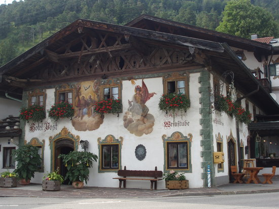 Wallgau, Germany: Beautiful traditional Bavarian Hotel zur Post