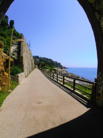 Walking path East, Nice swimming here. - Picture of Soggiorno al ...