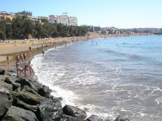 Beverly Park Hotel: La playa cerquita y muy buena
