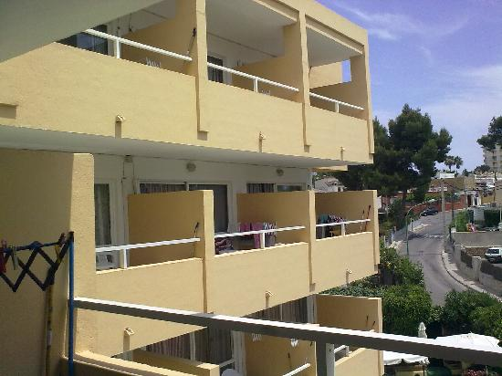 Montenova Apartments: our balconies