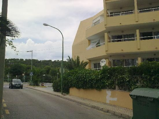 Montenova Apartments: our appartments from the road