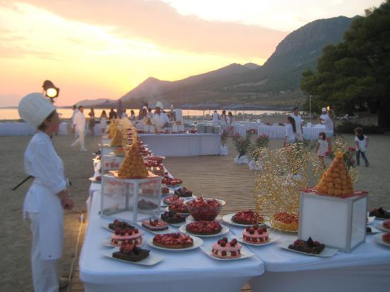 Club Med Gregolimano: cena nella zona vela
