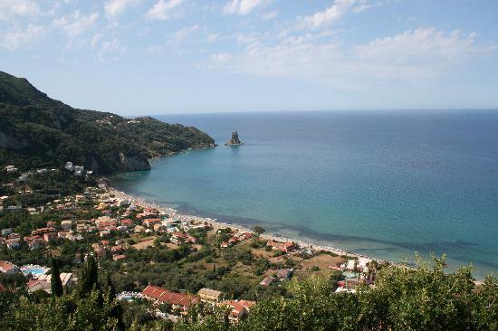 Mazis Apartments: beach Aghios Gordios