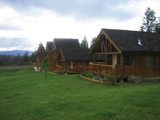 Echo Valley Ranch & Spa: Cabin View
