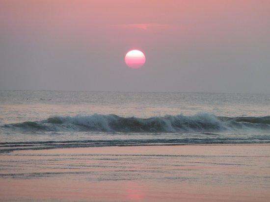 The Oberoi Bali: le coucher de soleil sur océan indien