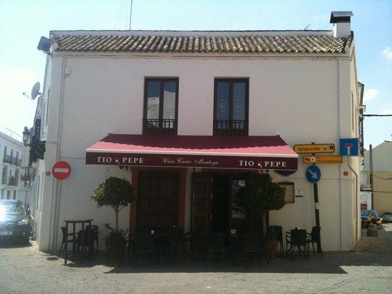 Casa Curro Montoya: much much nicer inside