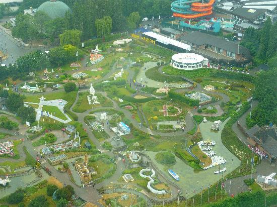 Mini-Europe seen from Atomium