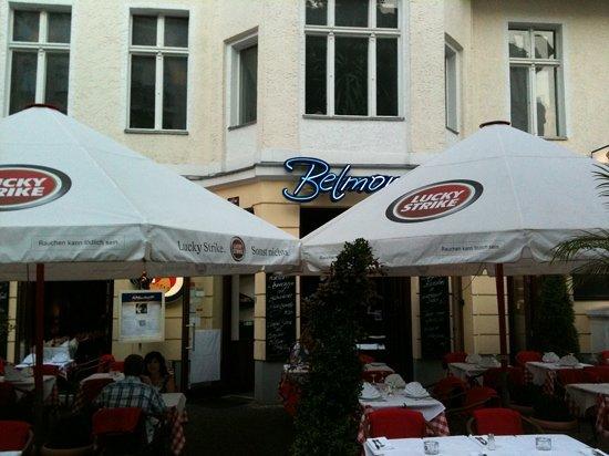 Belmondo Restaurant: Außenansicht