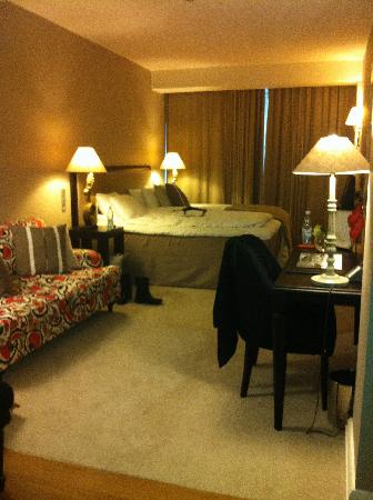 Hotel Haven: Lovely room - comfort prize