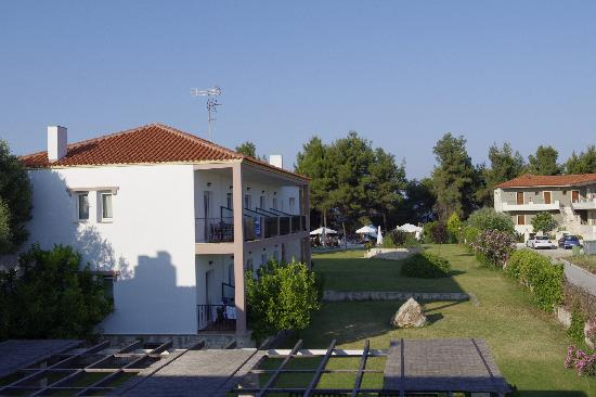 Nostos Hotel: view from our room