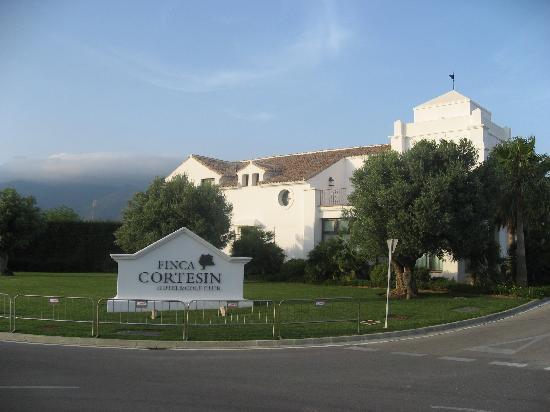 Finca Cortesin Hotel Golf & Spa: Letrero de la finca