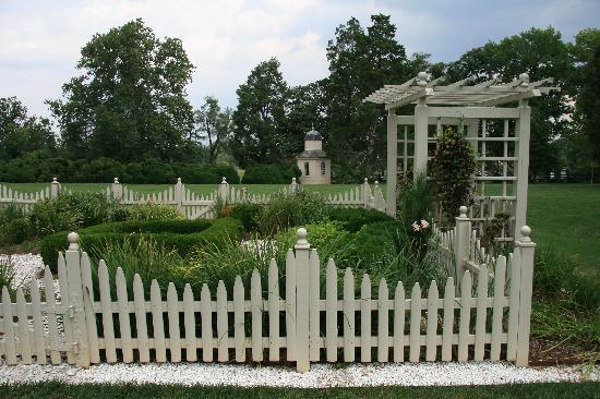 Montpelier Mansion: Montpelier gardens