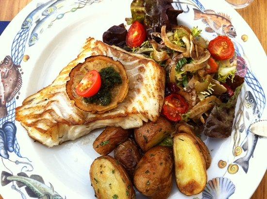 Borsen Spiseri: fresh cod - delicious