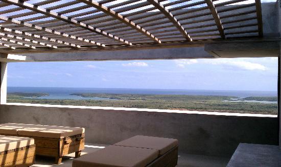 Casa Cascadas: Sweeping vistas from the loggia.