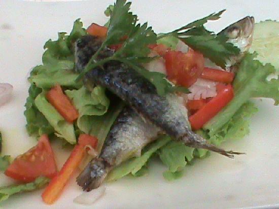 Olives : Vorspeise Sardinen