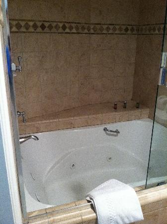 Hotel Metropole: Jacuzzi hot tub room 408